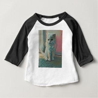 T-shirt Pour Bébé Chat fâché