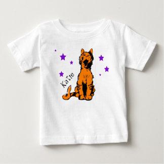 T-shirt Pour Bébé chat tigré orange mignon