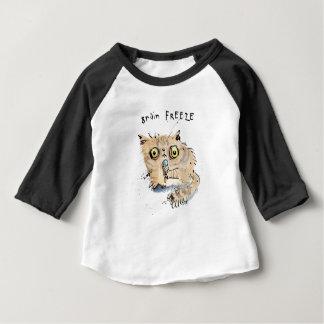 T-shirt Pour Bébé Chaton de gel de cerveau