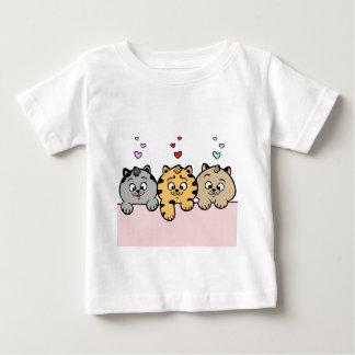 T-shirt Pour Bébé chatons
