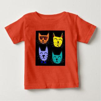 T-shirt Pour Bébé Chats frais