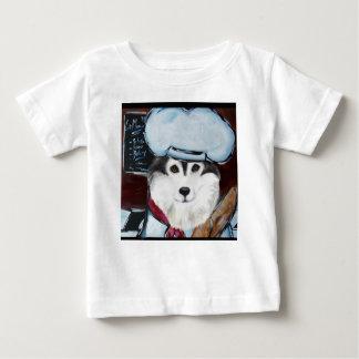 T-shirt Pour Bébé Chef de Malamute d'Alaska