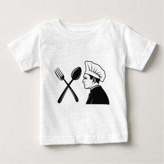 T-shirt Pour Bébé Chef de restaurant