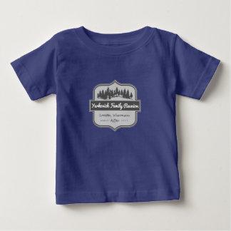 T-shirt Pour Bébé Chemise _Baby de la Réunion de famille de