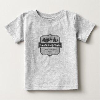 T-shirt Pour Bébé Chemise _Baby de lumière de la Réunion de famille