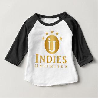 T-shirt Pour Bébé Chemise cinq étoiles illimitée de base-ball des