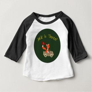 T-shirt Pour Bébé Chemise d'anniversaire de régions boisées
