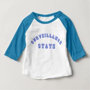 T-shirt Pour Bébé Chemise de base-ball de bébé d'état de