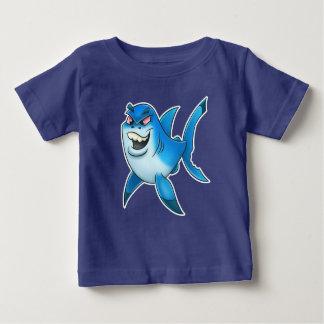 T-shirt Pour Bébé Chemise de bébé de bande dessinée de requin