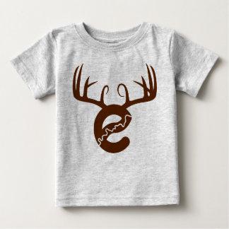 T-shirt Pour Bébé Chemise de bébé de cerfs communs de Yeg
