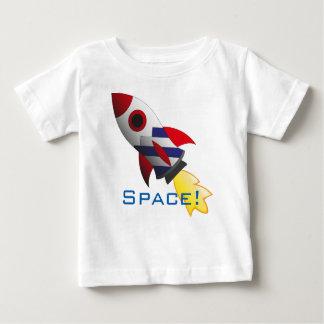 T-shirt Pour Bébé Chemise de bébé de fusée d'espace