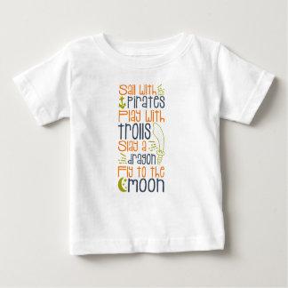 T-shirt Pour Bébé Chemise de conte de fées de Little Boy