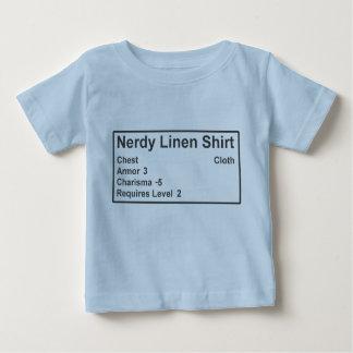 T-shirt Pour Bébé Chemise de toile ringarde d'armure de Gamer de