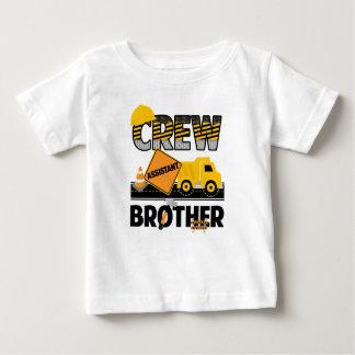 T-shirt Pour Bébé Chemise d'enfant de mêmes parents de construction,