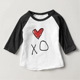 T-shirt Pour Bébé Chemise du coeur des enfants de combinaison