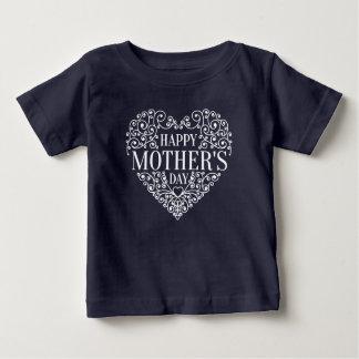 T-shirt Pour Bébé Chemise heureuse lunatique du jour de mère  