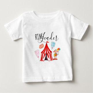 T-shirt Pour Bébé Chemise mignonne de chef d'anneau de partie de