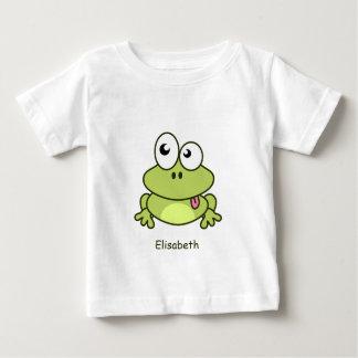 T-shirt Pour Bébé Chemise mignonne drôle de bébé de nom de bande