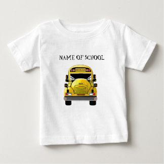 T-shirt Pour Bébé Chemise personnalisée par autobus scolaire