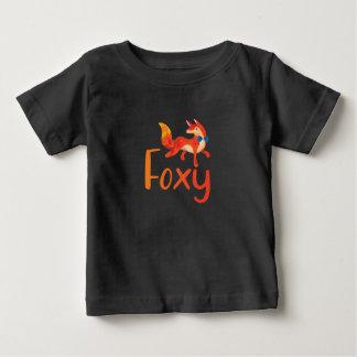 T-shirt Pour Bébé Chemise rusée élégante avec la chemise illustrée
