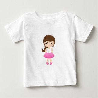 T-shirt Pour Bébé CHEMISETTE DOUCE ROSÉE BEBE FashionFC