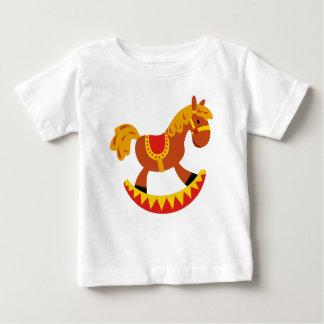 T-shirt Pour Bébé Cheval de jouet