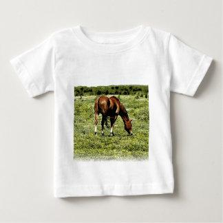 T-shirt Pour Bébé Cheval d'oseille