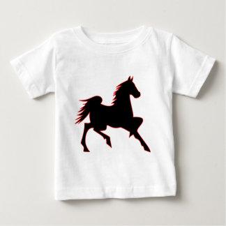 T-shirt Pour Bébé Cheval du feu