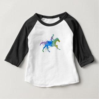 T-shirt Pour Bébé Cheval et jockey
