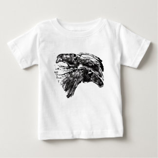 T-shirt Pour Bébé Chevaux esquissés