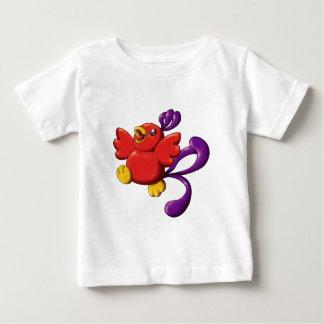 T-shirt Pour Bébé chibi Phoenix nerveux