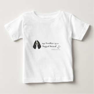 T-shirt Pour Bébé chien de basset