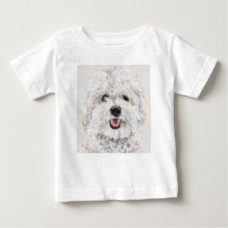 T-shirt Pour Bébé Chien de sourire