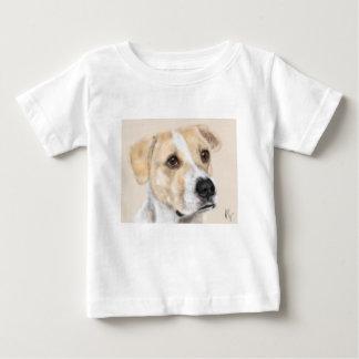 T-shirt Pour Bébé Chien doux de visage