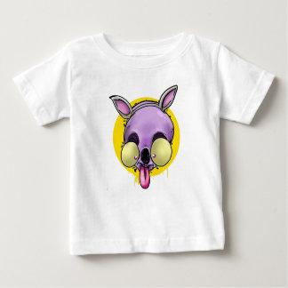 T-shirt Pour Bébé Chien fou