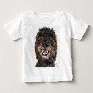 T-shirt Pour Bébé Chien maladroit