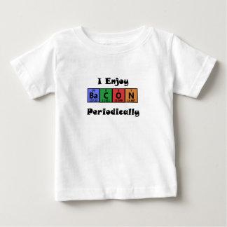 T-shirt Pour Bébé Chimie de la Science de lard de Tableau périodique