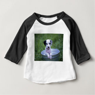 T-shirt Pour Bébé Chiot dalmatien adorable attendant Bath