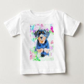 T-shirt Pour Bébé Chiot de rottweiler
