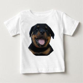 T-shirt Pour Bébé chiot de rotweiler