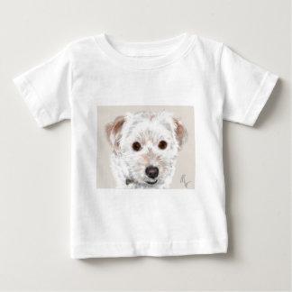 T-shirt Pour Bébé Chiot mignon de visage