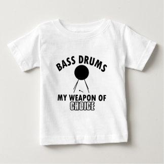 T-shirt Pour Bébé choix de basse-tambour