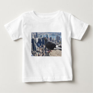 T-shirt Pour Bébé Ciel de New York City Manhattan Etats-Unis
