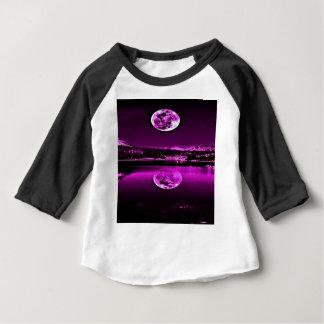 T-shirt Pour Bébé Ciel pourpre crépusculaire de nuits