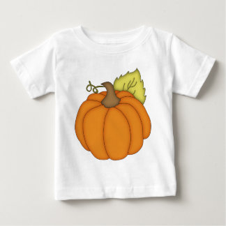T-shirt Pour Bébé Citrouille dodu