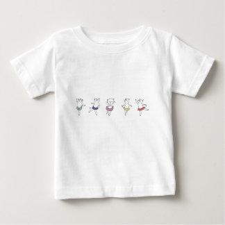T-shirt Pour Bébé Classe de ballet