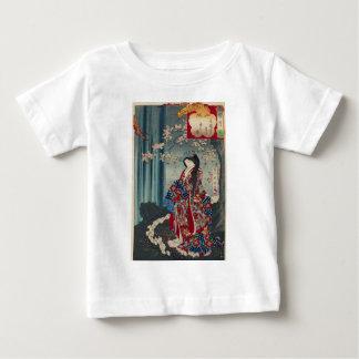 T-shirt Pour Bébé Classique japonais de cool d'art de Madame Japon