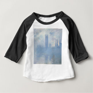 T-shirt Pour Bébé Claude Monet - Chambres d'art de Londres du