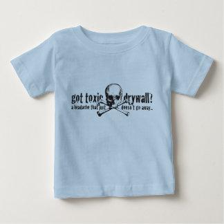 T-shirt Pour Bébé Cloison sèche toxique obtenue ?