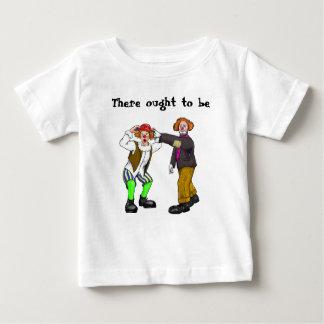 T-shirt Pour Bébé Clowns